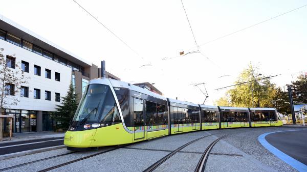 Une troisième ligne de tramway en service à Saint-Etienne - Bref Eco