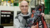 Philippe Gallay a repris le fabricant de raquettes à neige TSL en 1986.