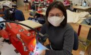 1083 confectionne gratuitement des masques pour le personnel soignant brefeco
