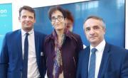 Franck Colcombet, Cécilia Téjédor et Jacques Blanchet, brefeco.com