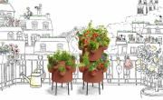 Ceercle propose un potager composteur pour balcons. - bref eco