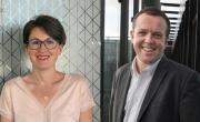Céline Reynaud et Cédric Van Styvendael
