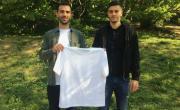 Alex Guendjian (à gauche) et Laurent Rivera-Gil sont les co-fondateurs de la marque Champ Blanc.