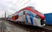 Le Regiolis d'Alstom à sa sortie de l'atelier - bref eco