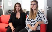 Aline Logie et Noëline Clavier sont les fondatrices de la start-up Line