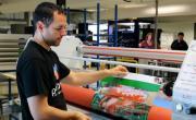 La nouvelle chaîne d'emballage automatisée sera en installation dans les prochaines semaines.