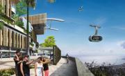 MND participe à la mise en place du second téléphérique urbain de La Réunion.