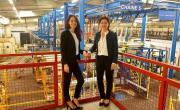 Fleur Vacheron et sa sœur Nathaly Dubois ont repris l'entreprise familiale TDS en 2012.