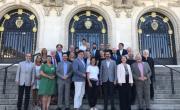 Les élus des onze villes thermales de la candidature Great spas of Europe étaient réunis à Vichy la semaine dernière.