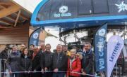 Près de 200 personnes ont participé à l'inauguration des nouveaux équipements de Val Cenis, le 31 janvier.