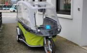 Le vélo bus à assistance électrique testé sur le périmètre de Grand Lac.