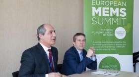 Laith Altimime,  président de SEMI Europe, et Christophe Ferrari, président de Grenoble Alpes Métropole.