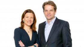 Fanny Letier et François Rivolier, cofondateurs de la société d'investissement Geneo - bref eco