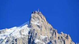 L'Aiguille du Midi.
