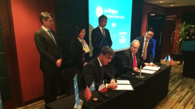 Le partenariat entre BigBooster et emlyon business school a été signé en Chine.