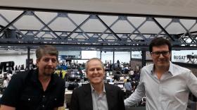 Yves Guillemeot, entouré de Stéphane Beley et Ahmed Boukhelifa brefeco.com