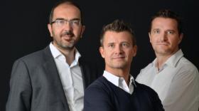 Arnaud Courdesses, Laurent Windenberger et Arnaud Thiollier