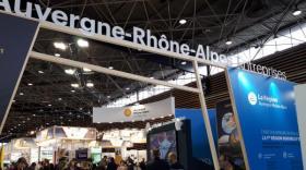 stand Auvergne-Rhône-Alpes Entreprises à Pollutec, brefeco.com
