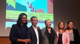 """L'équipe de la deuxième édition de """"Lyon gagne avec ses femmes"""", brefeco.com"""
