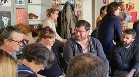 Coop'Art organise notamment des rencontres entre professionnels du secteur culturel en Haute-Loire.