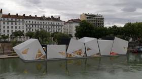L'île Ô, un théâtre sur l'eau à Lyon