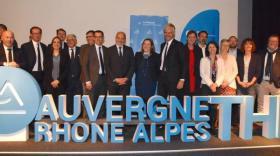 Auvergne Rhône-Alpes THD - bref eco