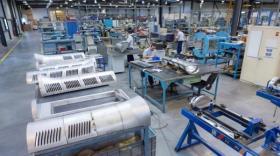 L'usine de Auvergne Aéronautique à Aulnat