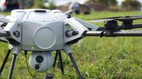 Le drône filaire Orion UAS d'Elistair, brefeco.com