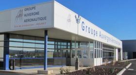 Le site de production du groupe Auvergne Aéronautique à Aulnat.