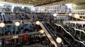 Airstar illumine le Forum des Halles