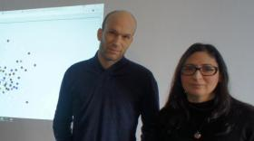 Nicolas Hernandez, associé de l'entreprise aux côtés de Céline Haéri.