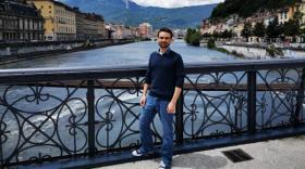 Alexandre Collet, cofondateur d'ION Energy, à Grenoble.