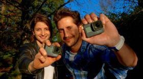 Caroline Minardi et Romain Corraze
