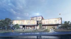 Le futur Hôtel de logistique urbaine sur le port Edouard Herriot à Lyon, brefeco.com