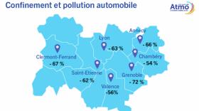 Confinement: on respire mieux en France et dans la région confirme Atmo