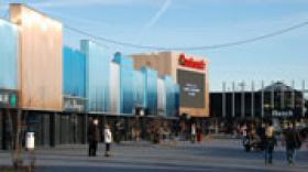 Le centre commercial Auchan Porte des Alpes révèle son nouveau visage
