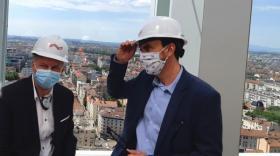 """La Métropole de Lyon présente un nouveau projet Part-Dieu """"verdi"""""""