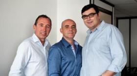 Philippe Béraldin, Nicolas Basset et Alain Favre