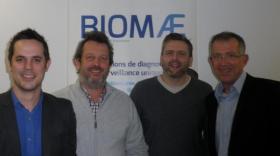 Guillaume Jubeaux, Olivier Geffard, Arnaud Chaumot et Laurent Viviani