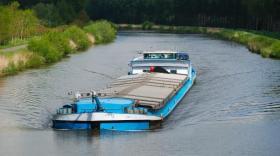 Le transport fluvial en forte baisse sur l'axe Rhône-Saône