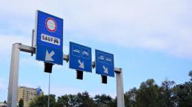 La voie dédiée au covoiturage à la douane de Thônex-Vallard est une première en France comme en Suisse.