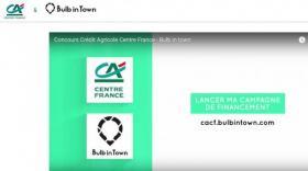 Le Crédit Agricole Centre France s'associe avec Bulb in Town