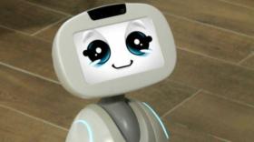 Buddy le robot compagnon de Blue Frog Robotics.