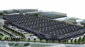 Futur bâtiment logistique Lidl