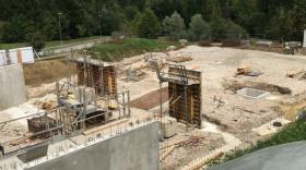 Les terrassements ont débuté en juillet dernier.