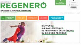 Site web Régénéro
