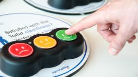 Trois boutons de satisfaction sont disponibles...pour le moment