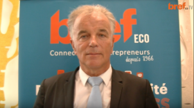 Jacques Longuet, directeur régional d'EDF - bref eco