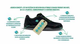 chaussure de sécurité recyclée RG, brefeco.com