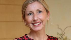 Caroline Hanriot-Sauveur dirige l'agence innovation de la Caisse d'épargne Rhône-Alpes à Grenoble